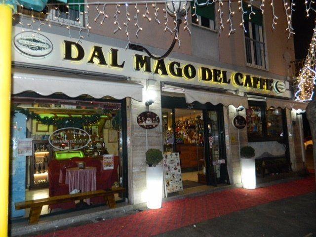 Dal mago del caffé, caffetteria a Roma