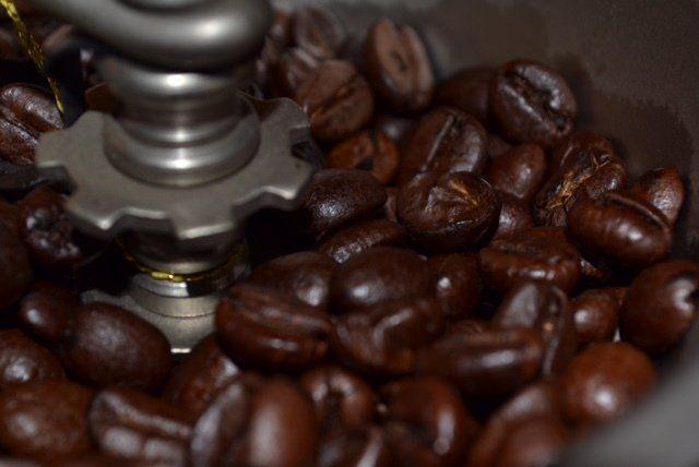 Chicchi di caffé e macinazione caffé a Roma