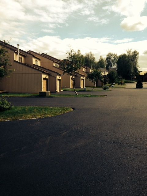 AFS Construction Services paved driveway