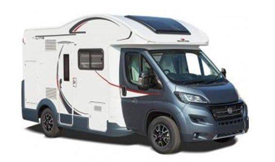 2-4 berth motorhome for sale roller team T Line 590 luxury camper van used secondhand