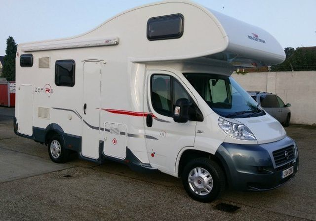 For Sale Roller Team Zefiro 675, 6 berth motorhome with 6 belts campervan used second hand 2014