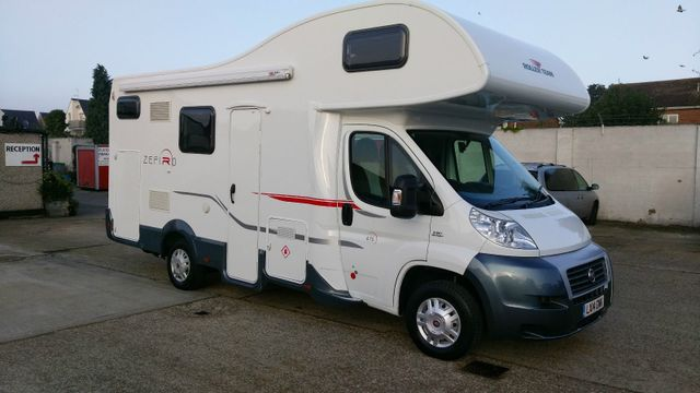 motorhome for sale 7 berth auto roller 707 second hand used 2014 14 registration