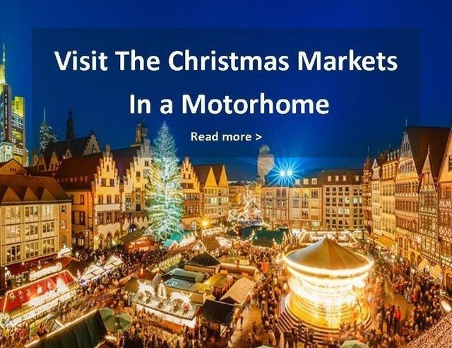 christmas motorhome and campervan hire christmas markets