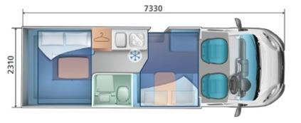 auto roller 747 mobile home hire layout