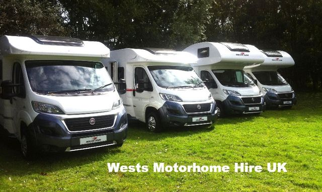 motorhome hire, campervan hire, rv rental in the Europe UK London Essex Kent England