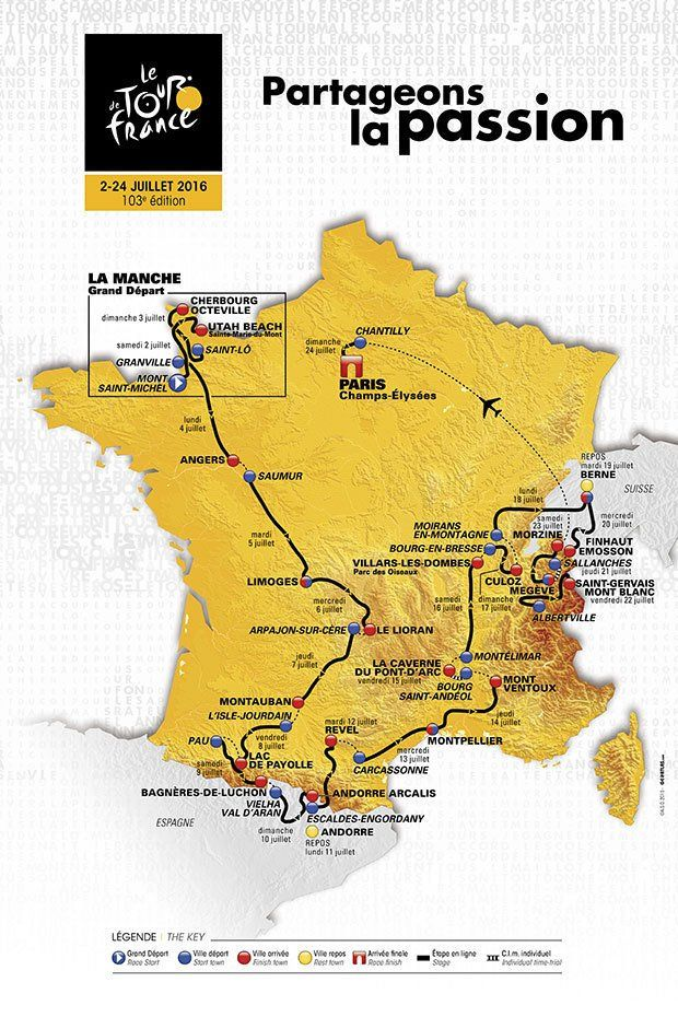 Motorhome Hire For Tour de France 2016