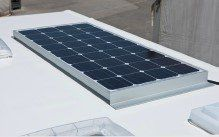 solar panels for motorhomes and vans, repalcement parts, supplied and fitting service