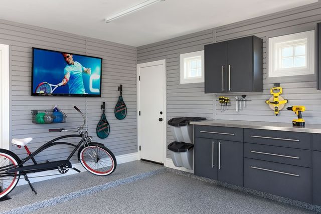 How to Optimize Garage Wall Organization with Gridwall ...