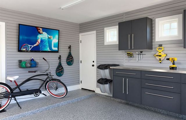 Slatwall Garage Organizer Installation