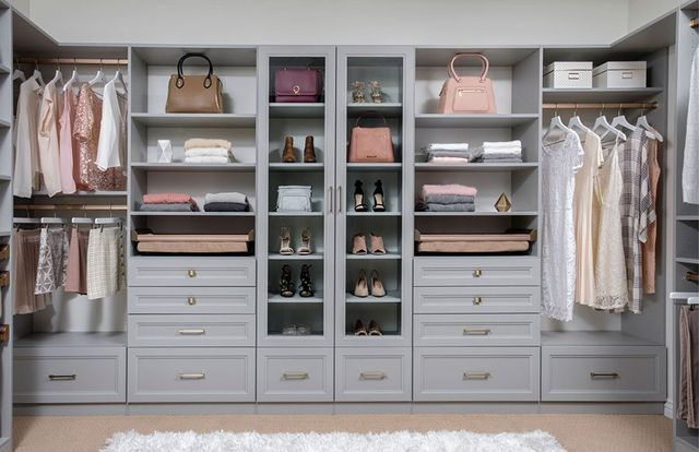 Walk-In Closet Design | Master Bedroom Closet | Seattle ...