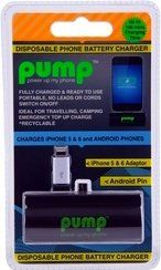 PUMP Universal Disposable Charger iPhone 5/6/7 & Android