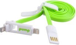 PUMP Charging Cables - 2 in one for iPhone5/6/7 & Android