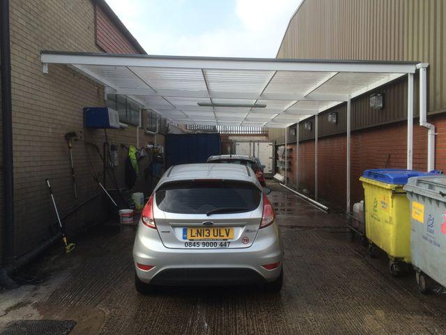 canopy installation