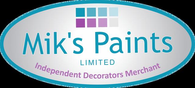 Mik's Paints logo