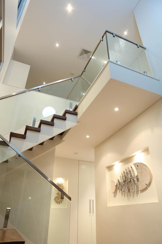 the saver group beautiful led lighting at staircase