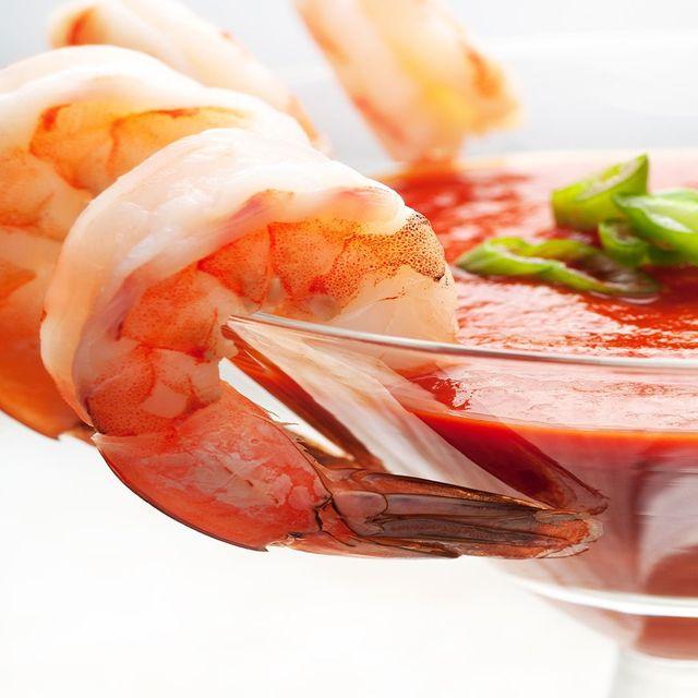 Cocktail di gamberetti ad Osteria del Pesce Fresco a Pieve A Nievole