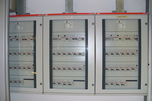 Pannello di controllo di un impianto