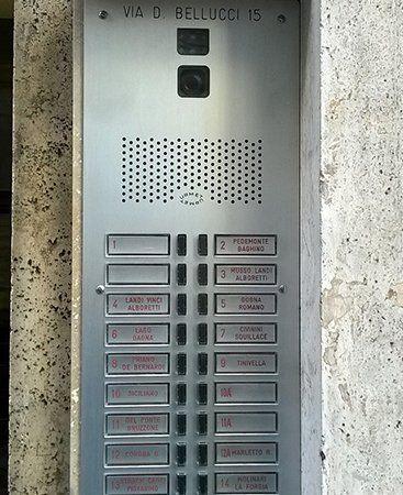 Sistema di sicurezza di accesso all'edificio