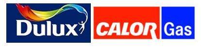 Dulux & CALOR Gas Logos