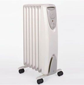 An oil radiator
