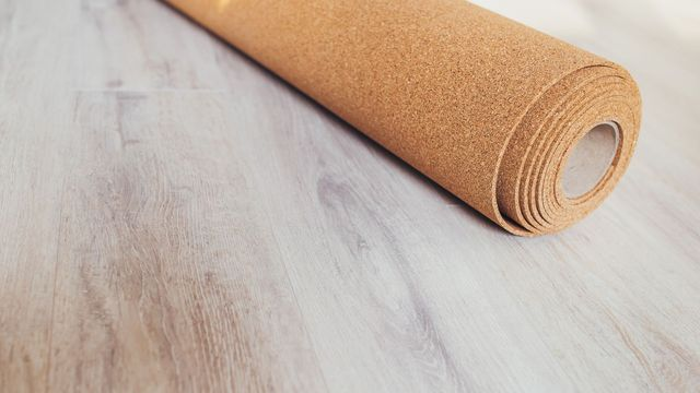 Carpet Underlay With, Can You Put Laminate Flooring On Top Of Carpet Underlay