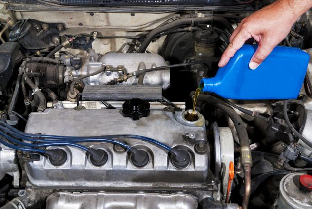 fluid change during auto maintenance service in Rice Lake, WI