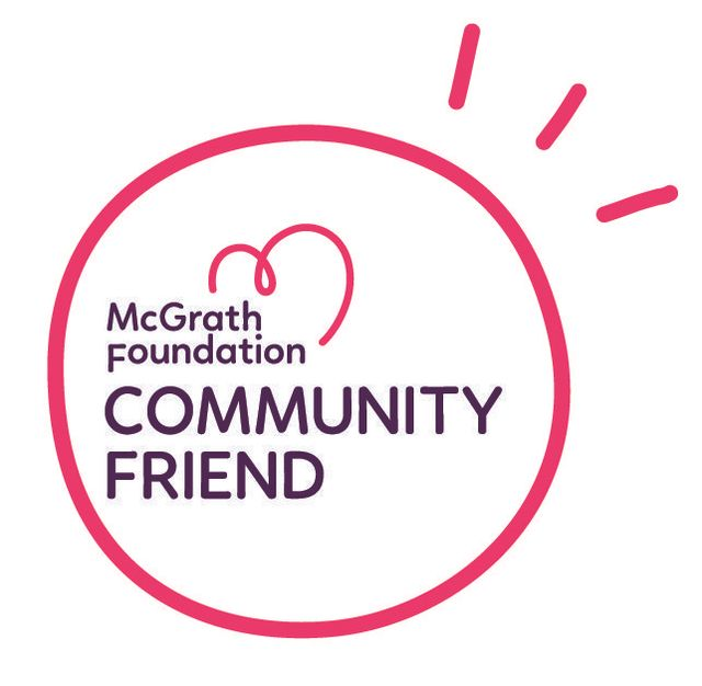 Image result for mcgrath foundation community friend