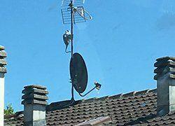 antenna sul tetto