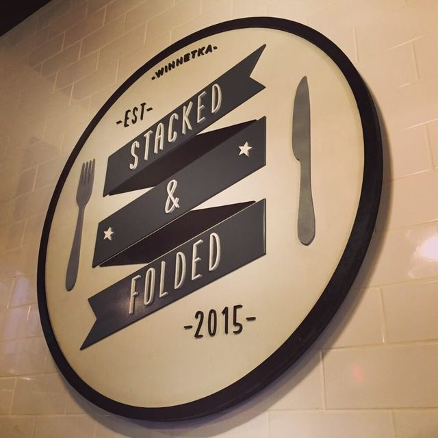 Stacked & Folded Chef