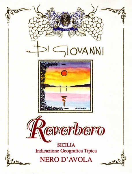 Un'etichetta Di Giovanni Riverbero
