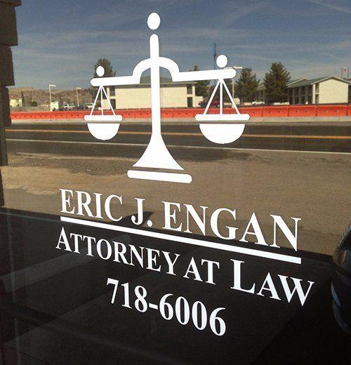 Eric J. Engan engraved stone