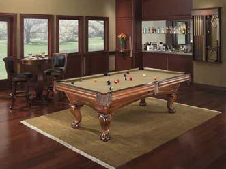 Game Room Service U2014 Brown And Gold Color Of Billiard Table In Richmond, VA