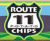 Route 11 Chips Logo