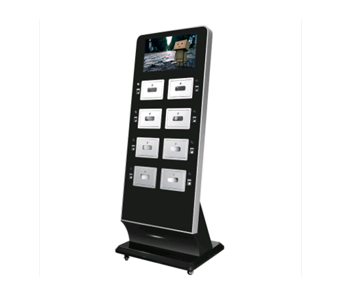 View Floor Model Charging Stations Liberty 12 Cell Phone Station