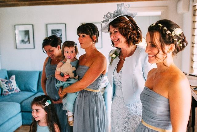 Jax Glam Beauty Bride Bridesmaids Wedding Party Hair Airbrush Makeup September 16 at Court Colman Manor, Bridgend by Andrew Into The Heart Photography