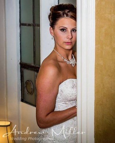 Bridal Airbrush Makeup for Wedding St Pierre Marriott Hotel Chepstow