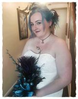 Emmas Wedding August 2015 in Bristol Alternative Bridal Hair and Makeup