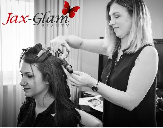 Jackie Fussell of Jax-Glam Beauty Bridal Hair Stylist