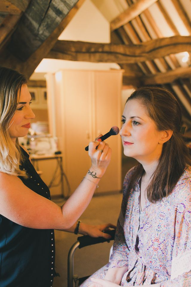 Wedding Airbrush Makeup Artist by Jax Glam at Homewood Park Hotel by Steve Bates Photography June 2015