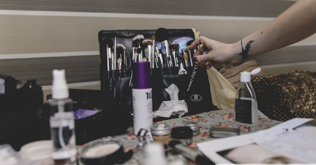 Having a makeup clear out? Why not donate your old products