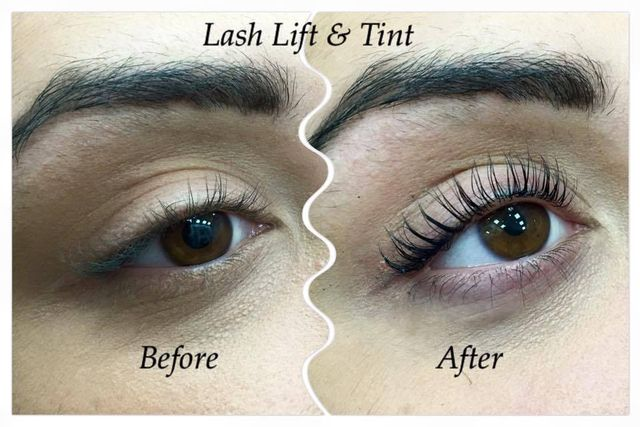 Eyelash Lift Eyelash Lift and Tint Blue Black in Bristol by Jax glam Beauty