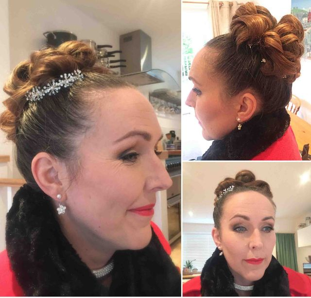 Special Occasion Hair And Airbrush Makeup For Wedding Guest Catherine In Bristol Avon