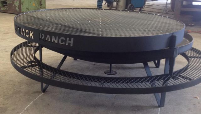Metal Fab Fire Pit in Bryan, TX - Custom Fire Pit In College Station, TX Custom Fabricators