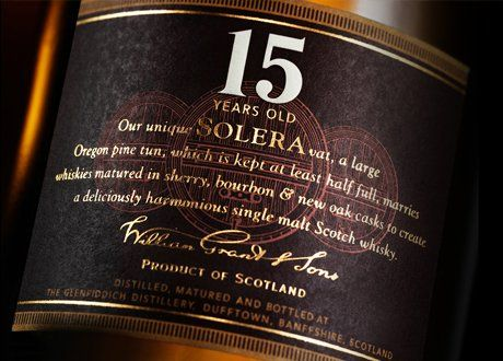 Rare 15 years old scottish whisky