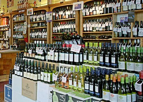 Great assortment of wine