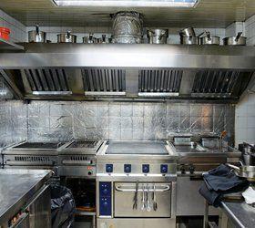 Kitchen extraction work