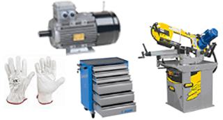 attrezzatura antinfortunistica, compressori, elettroventilatori