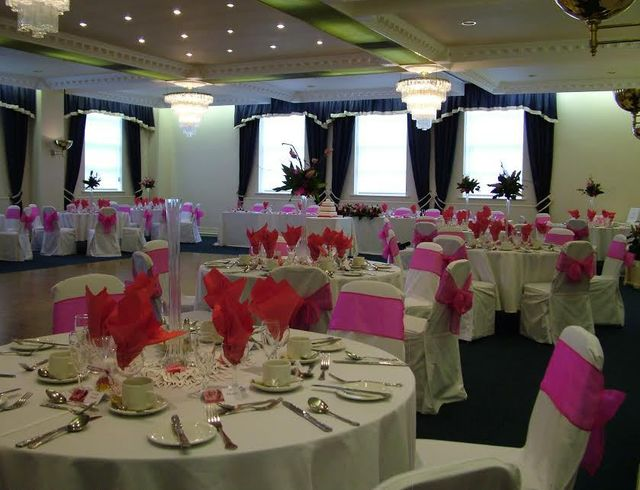 One of our wedding suites in Preston
