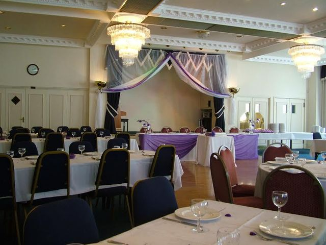 Room prepared for wedding ceremonies in Preston