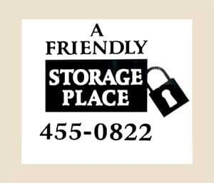 A Friendly Storage Place
